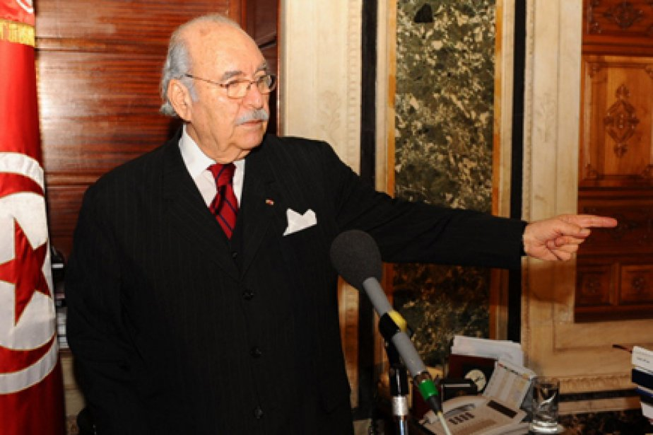Le chef du parlement tunisien, Foued Mebazaa, a... (Photo: Fethi Belaid, AFP)
