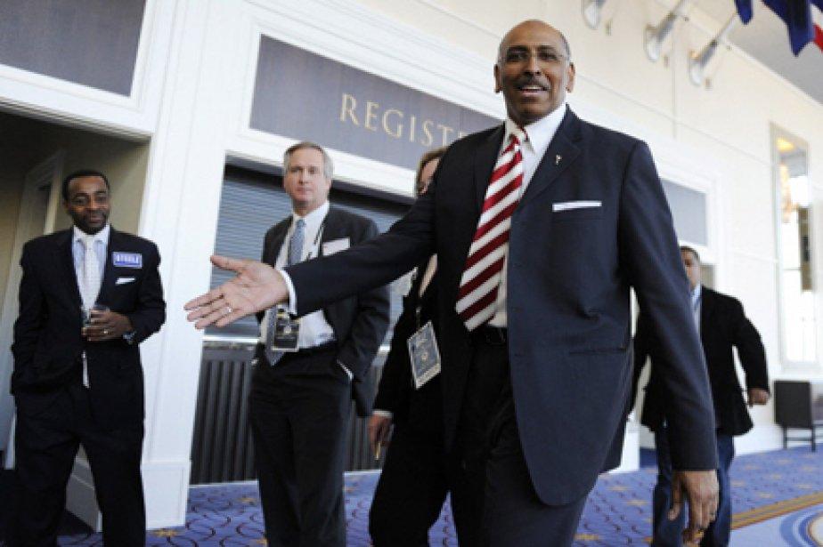 Michael Steele avait été élu à la tête... (Photo: Jonathan Ernst, Reuters)