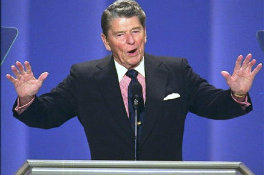 Ronald Reagan a reçu le diagnostic de la... (Photo: Ron Edmonds, Archives AP)