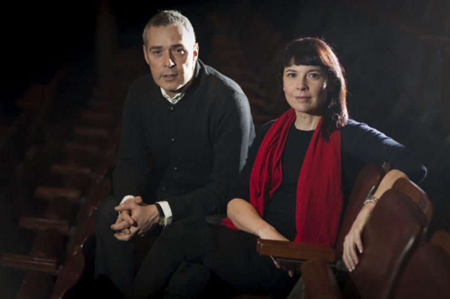 Serge Denoncourt et Anne Dorval partagent une passion... (Photo André Pichette, La Presse)