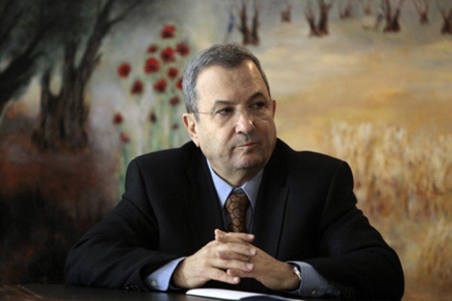 Le ministre israélien de la Défense Ehud Barak... (Photo: Baz Ratner, Reuters)