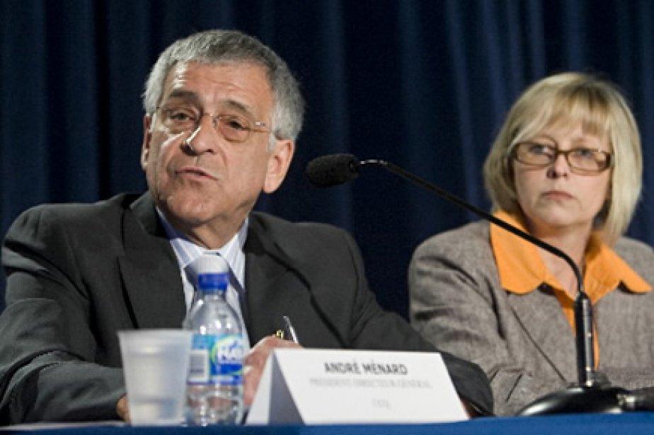 Le président de la CCQ, André  Ménard... (Photo: David Boily, La Presse)
