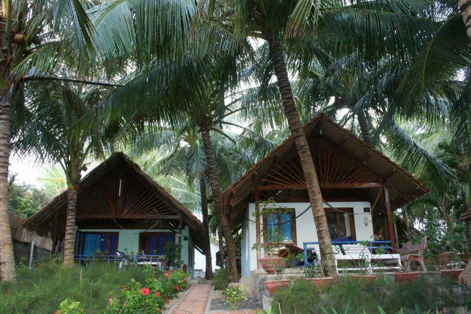 À Paradise Resort, les visiteurs logent dans des... (Photo: Isabelle Ducas, collaboration spéciale)