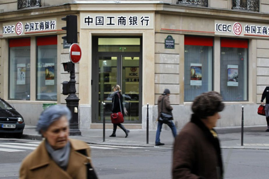 La banque chinoise Industrial and Commercial Bank of China... (Photo Reuters)