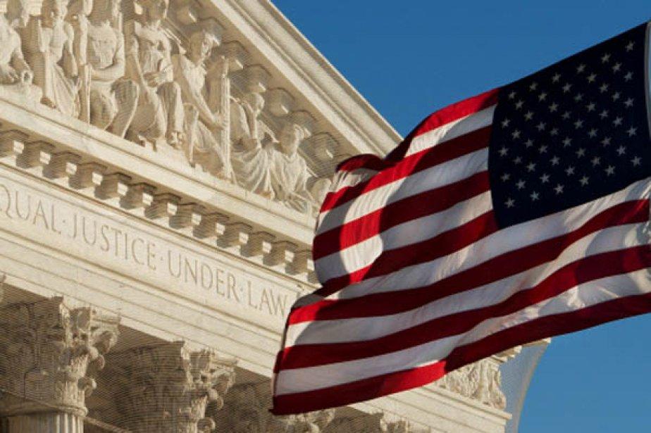 La Cour Suprême des États-Unis.... (Photo AFP)