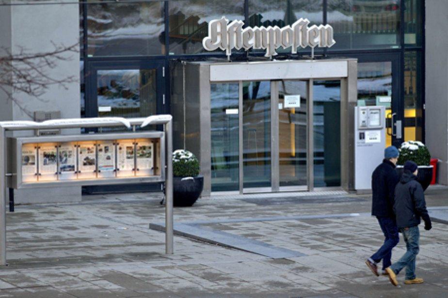 Le journal norvégien Aftenposten prend Julian Assange de... (Photo: AFP)