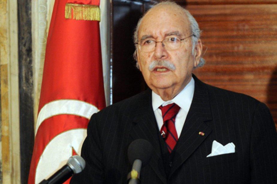 Le président tunisien par intérim, Foued Mebazaa.... (Photo: AP)