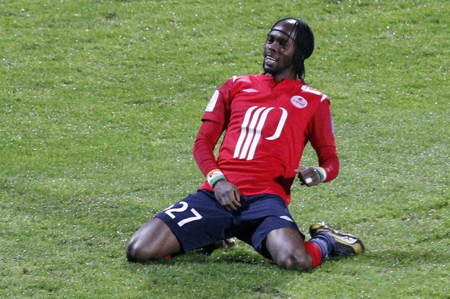 L'attaquant lillois Gervinho... (Photo: Reuters)