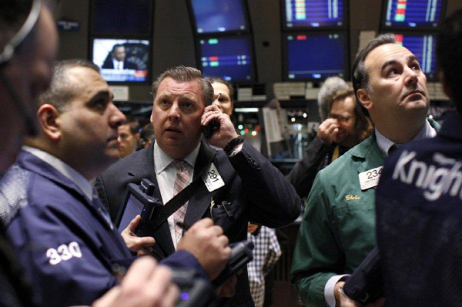 La Bourse de Toronto a clôturé en baisse marquée, tirée vers... (Photo Reuters)