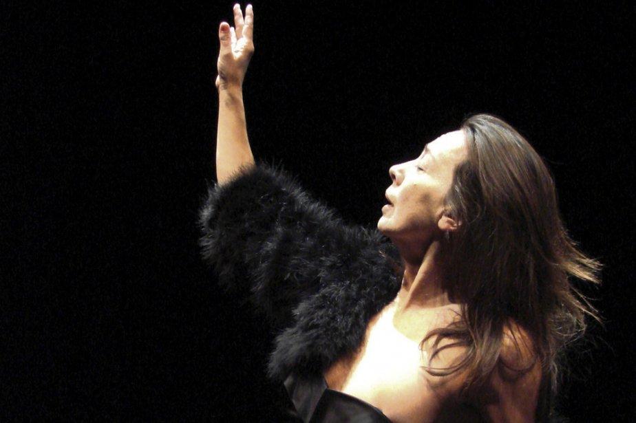 Avec La danseuse malade, Jocelyne Montpetit  boucle... (Photo: fournie par le Quat'sous)