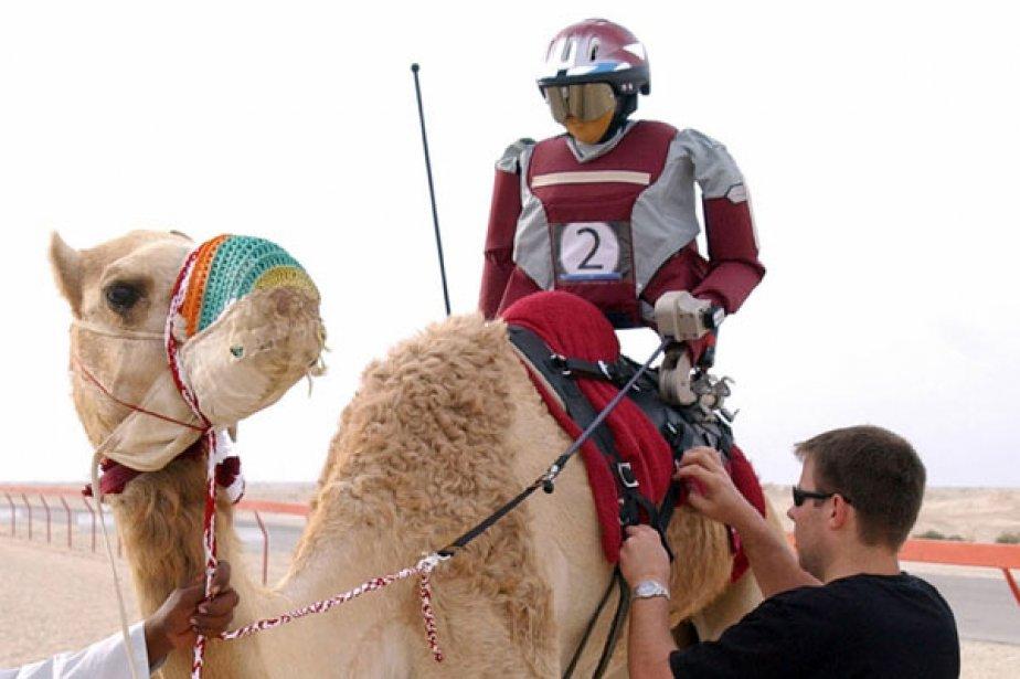 Les robots-jockeys ont remplacé les enfants-jockeys, après l'interdiction... (Photo: Archives Reuters)