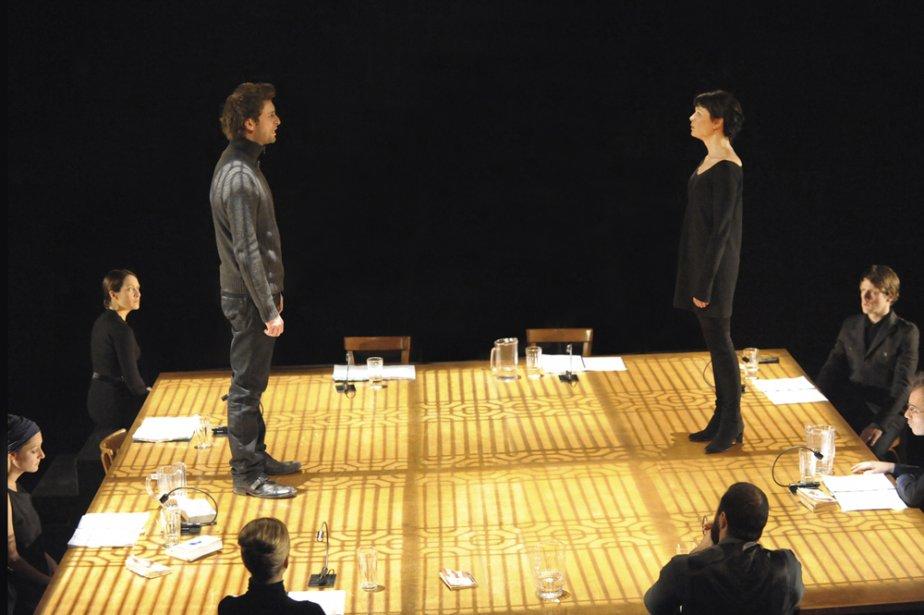 François-Xavier Dufour joue le rôle d'Oreste, amoureux ... (Photo: fournie par Espace GO)