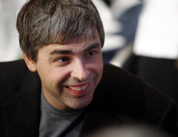 Larry Page, qui avait fondé Google en 1998... (Photo Reuters)