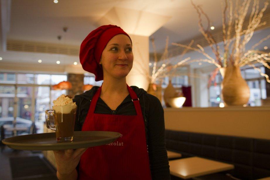Le salon de thé Juliette et chocolat vous... (Photo: André Pichette, La Presse)