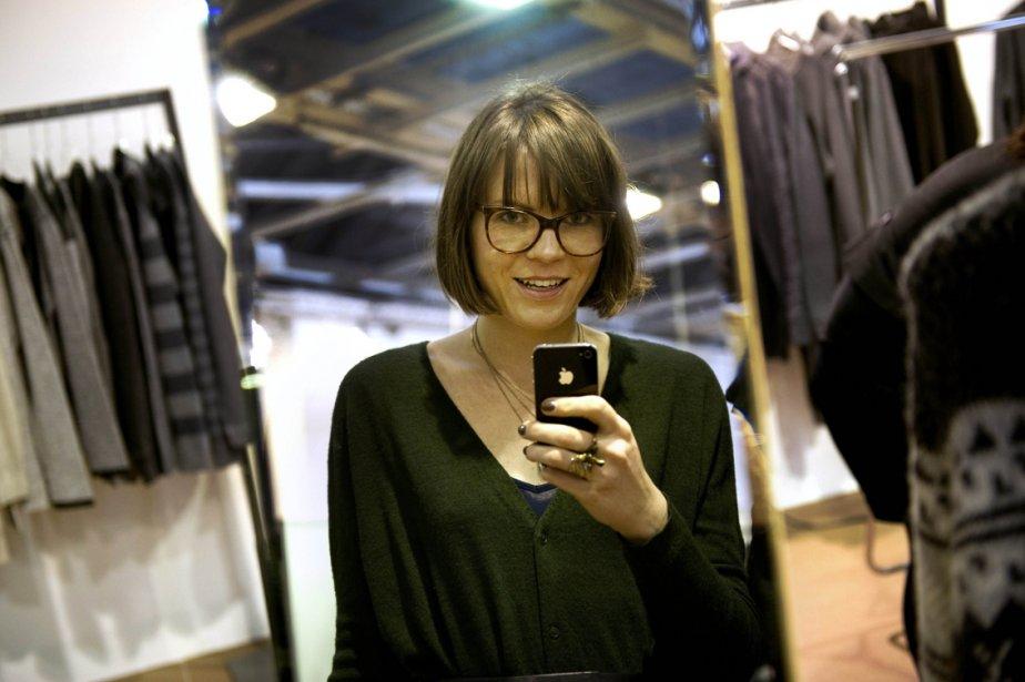 Mary Scherpe, 28 ans, a l'emploi du ... (Photo: AFP)
