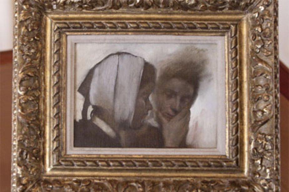 Blanchisseuses souffrant des dents de Degas.... (Photo: AFP)
