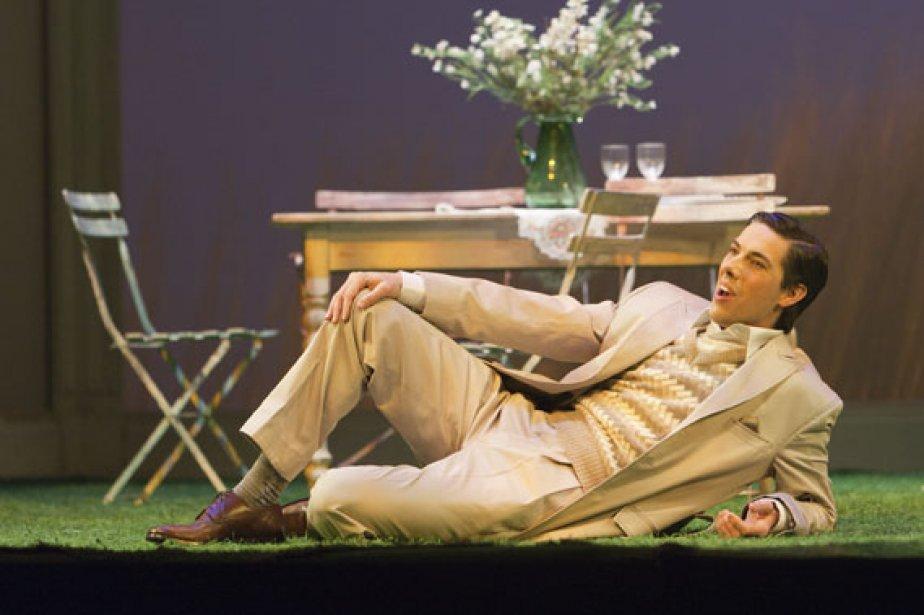 Phillip Addis dans le rôle-titre de Werther.... (Photo: Miguel Legault, collaboration spéciale)