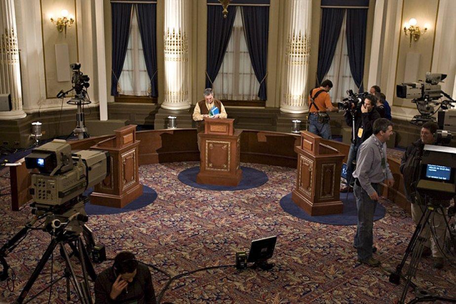 Lors d'un débat politique, les citoyens ont tendance... (Photo: archives PC)