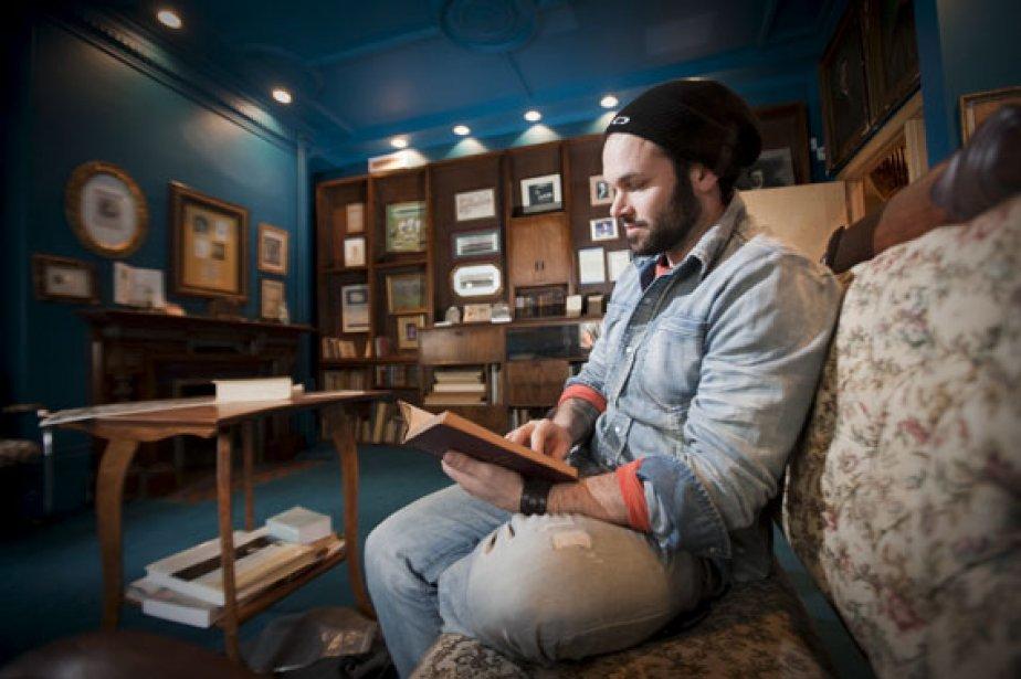Alexandre Belliard (notre photo) a rencontré Gaétan Dostie... (Photo: André Pichette, La Presse)