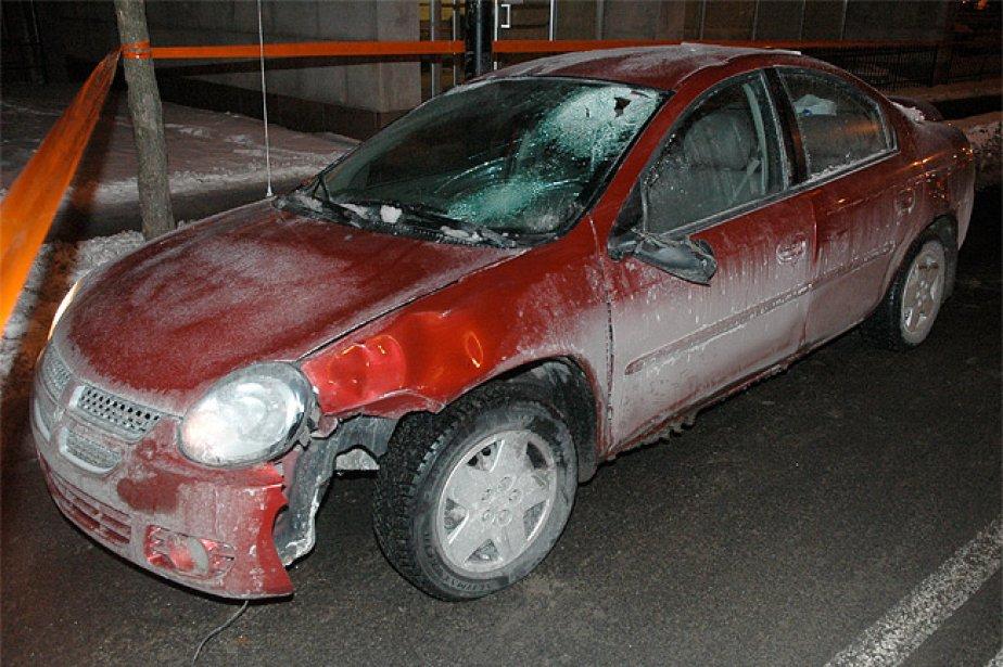 L'accident est survenu vers 2h du matin à... (Photo: Sylvain Ryan, collaboration spéciale)