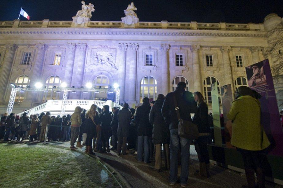 Il y avait foule au Grand Palais dans... (Photo Reuters)