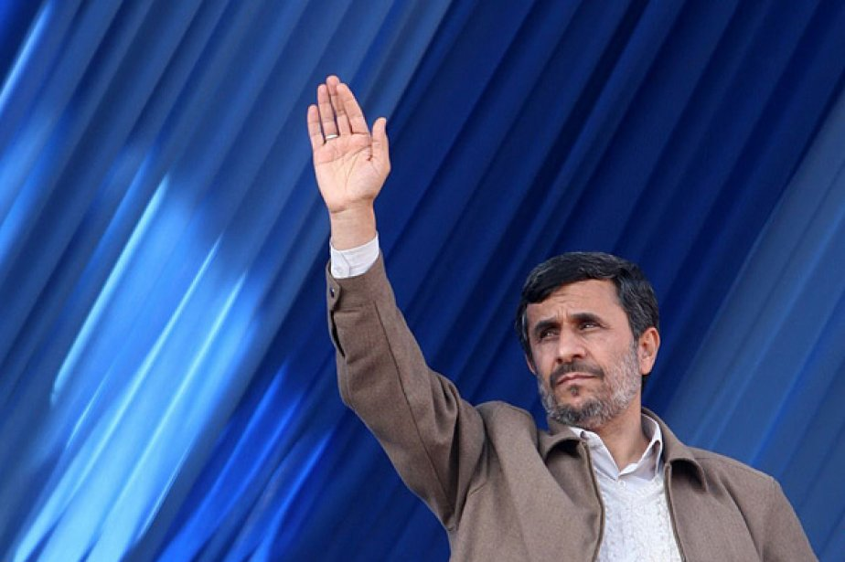 Le président Mahmoud Ahmadinejad.... (Photo: Reuters)