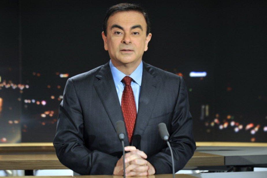 Le PDG de Renault Carlos Ghosn.... (Photo AFP)