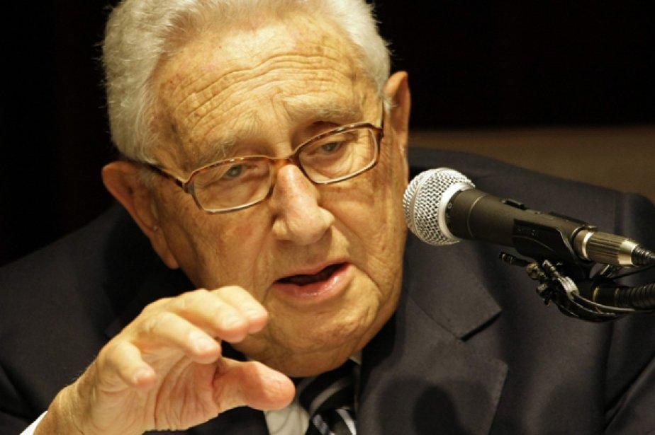 Henry Kissinger... (Photo Reuters)