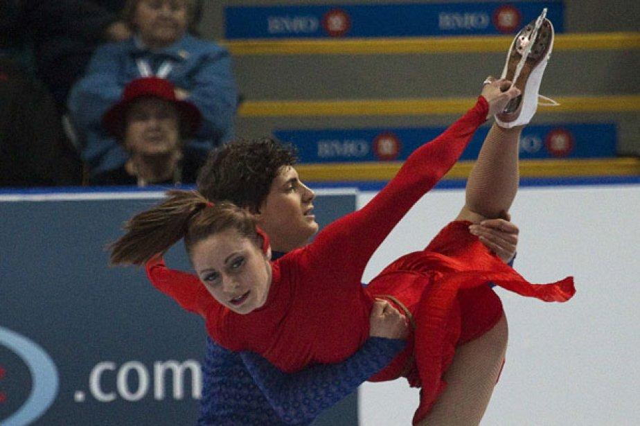 Vanessa Crone et Paul Poirier... (Photo: Andy Clark, Reuters)