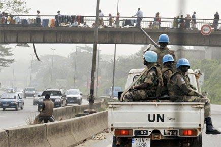 Le gouvernement Gbagbo avait annoncé vendredi que l'armée... (Photo: AFP)
