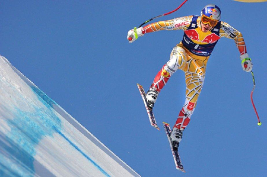 Pour Erik Guay, 16e de la descente samedi,... (Photo: AFP)