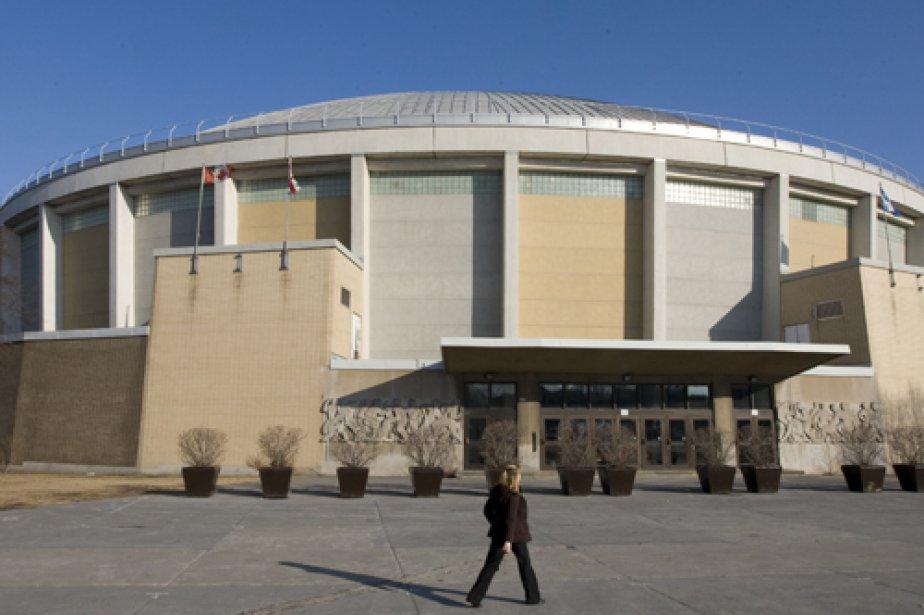 L'aréna Maurice-Richard.... (Photo: Robert Skinner, Archives La Presse)