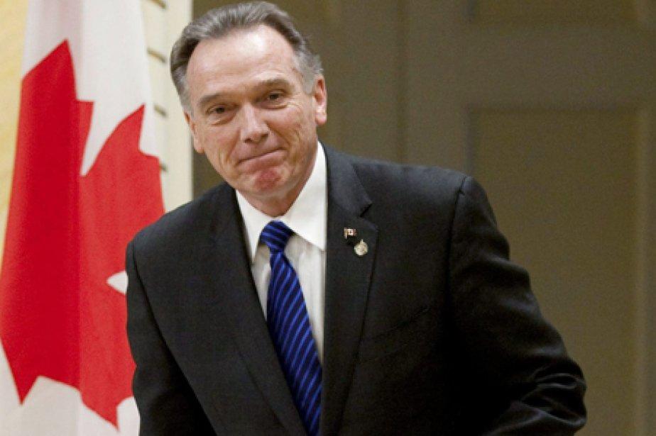 Le ministre fédéral de l'Environnement, Peter Kent.... (Photo: PC)