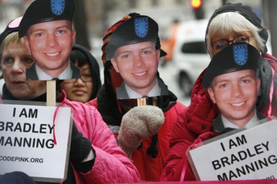 Bradley Manning, 23 ans, ancien analyste de renseignement... (Photo: AP)