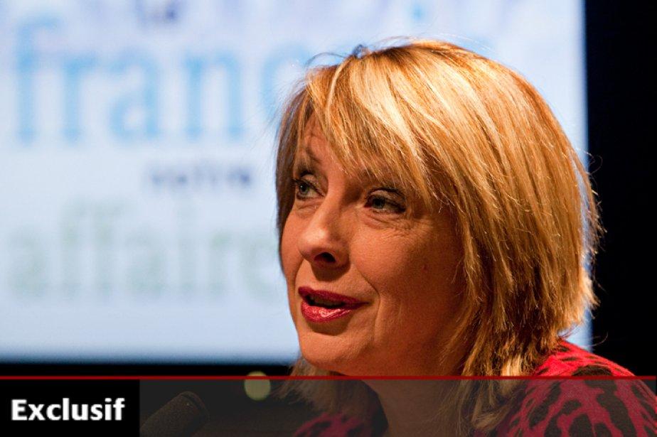 La ministre de la Culture, Christine St-Pierre.... (Photo: François Roy, La Presse)