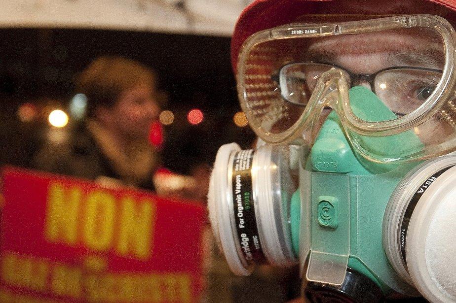 Les opposants au gaz de schiste ont-ils bénéficié... (PHOTO: ROBERT SKINNER, ARCHIVES LA PRESSE)