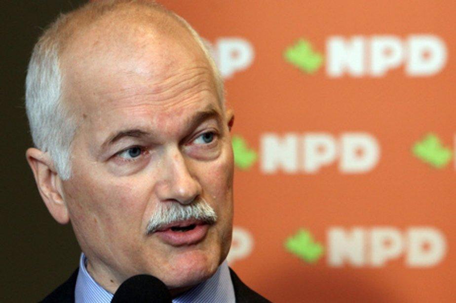 Le chef du Nouveau Parti démocratique, Jack Layton.... (Photo: PC)