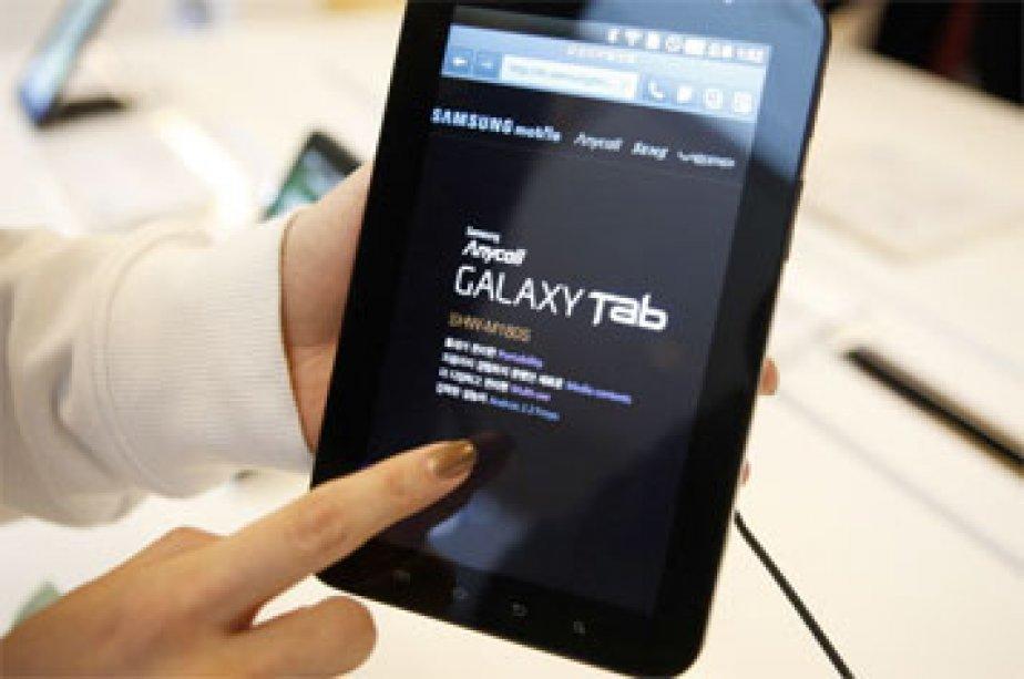 La Galaxy Tab de Samsung... (Photo: Reuters)