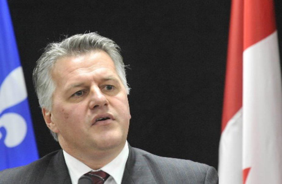 Le ministre des Affaires municipales, Laurent Lessard, estime... (Archives La Presse)