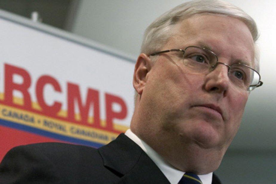 Le commissaire de la GRC, William Elliott.... (Photo: PC)