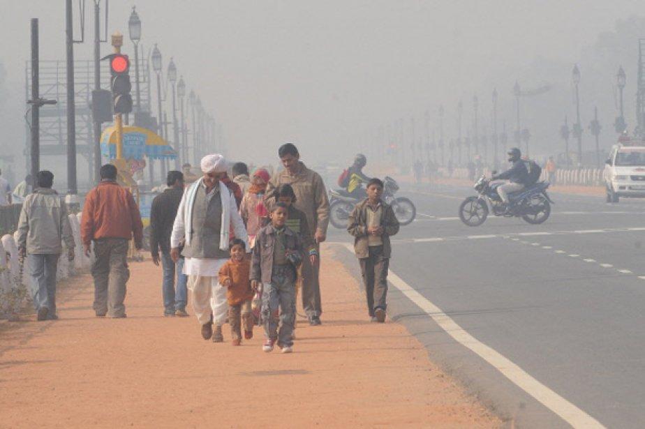 L'économie de l'Inde «ralentit fortement», s'est alarmée lundi... (Photo d'archives AFP)