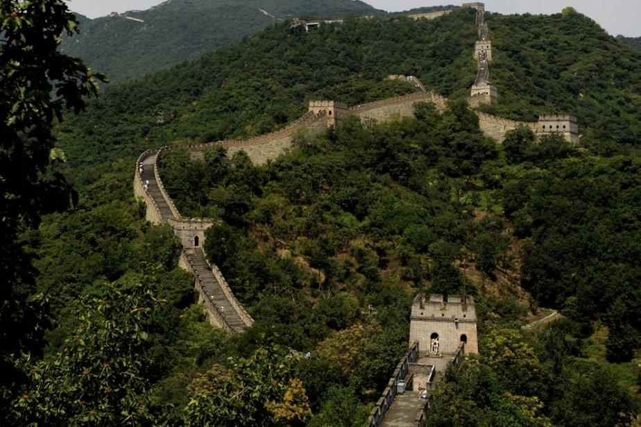 La muraille de Chine... (Photo: Bernard Brault, archives La Presse)