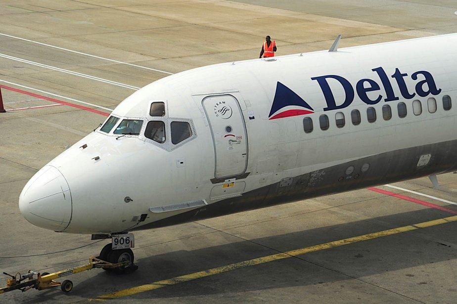Un avion de la compagnie Delta... (Photo: AFP)
