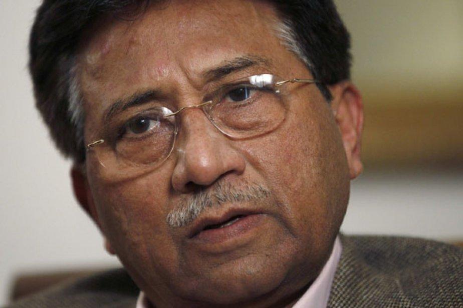 L'ex-président pakistanais Pervez Musharraf... (Photo: Stefan Wermuth, Archives Reuters)