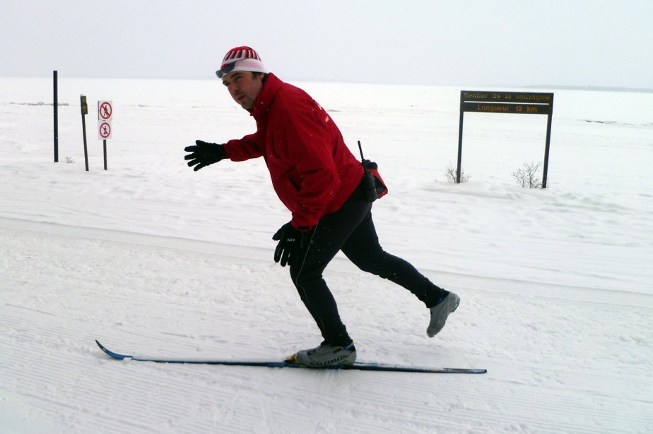 «La majorité des skieurs québécois ne maîtrisent pas... (Photo: Simon Diotte, collaboration spéciale)