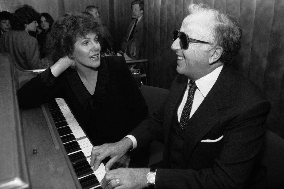 L'actrice Lynn Redgrave et le pianiste George Shearing.... (Photo: archives AP)