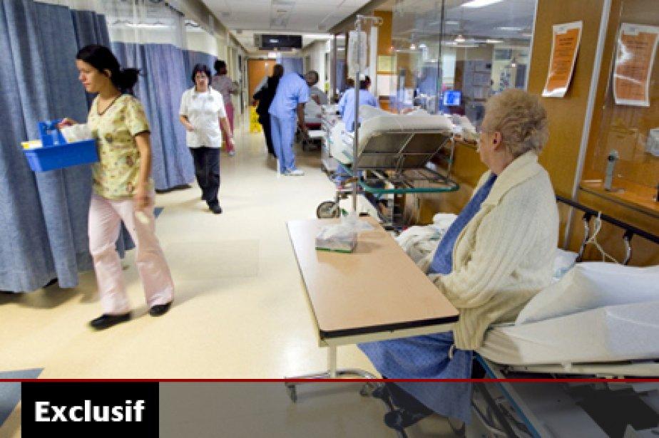 Le Dr Jocelyn Barriault, chef des urgences du... (Photo: Alain Roberge, La Presse)