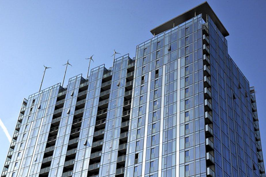 Cet immeuble certifié LEED platine, en plein centre... (Photo: Gerding Edlen)