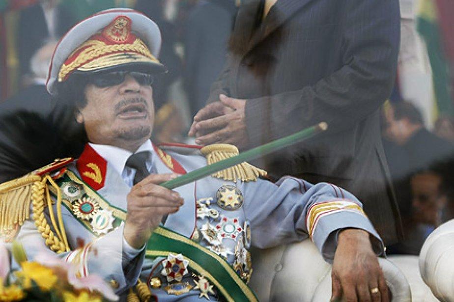 Le colonel Kadhafi n'a toujours pas fait de... (Photo: archives AP)