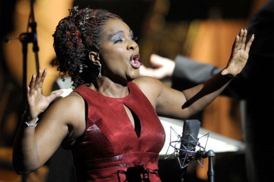 Si la soprano montréalaise d'origine haïtienne n'est pas... (Photo: Bernard Brault, La Presse)